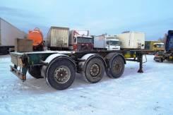 Van Hool. Полуприцеп контейнеровоз VAN HOOL. Год выпуска 2001, 31 000 кг.