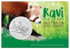 Австралия 1 доллар 2018 Панда Рави. Ravi. Серия 'Австралийский