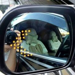 Повторитель поворота в зеркало.