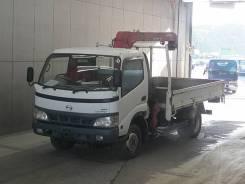 Toyota Dyna. Toyota DYNA 4WD мостовой рессорный с крановой установкой, 4 600 куб. см., 3 000 кг.