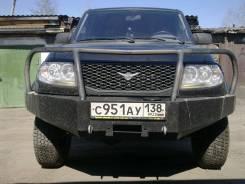 Бампер. УАЗ Патриот Пикап, 23632 Двигатели: ZMZ40906, ZMZ40905