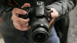 Sony Alpha SLT-A58 Kit. 20 и более Мп, зум: 14х и более