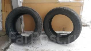 Dunlop. Зимние, шипованные, износ: 40%, 2 шт