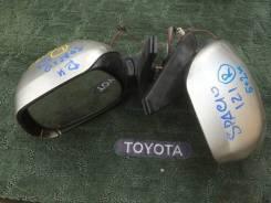 Накладка на зеркало. Toyota Corolla Spacio, NZE121, NZE121N