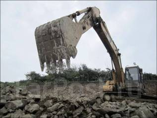Отсыпка участков скалой