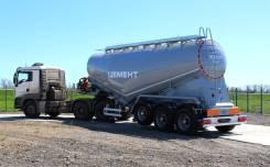 Bonum. Цементовоз 34m3, 2018 г. в. трехосный, без перегруза