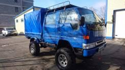 Toyota Dyna. Все блокировки 4х4, 4 200 куб. см., 2 000 кг.