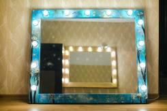 Изготовление гримерных зеркал на заказ