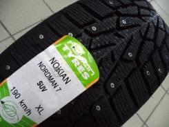 Nokian Nordman 7 SUV. Зимние, шипованные, 2017 год, без износа, 4 шт