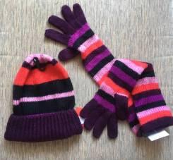 Шапка и перчатки. Рост: 152-158, 158-164, 164-170 см