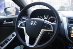 Переключатель на рулевом колесе. Hyundai Solaris, RB Двигатели: G4FC, G4FA