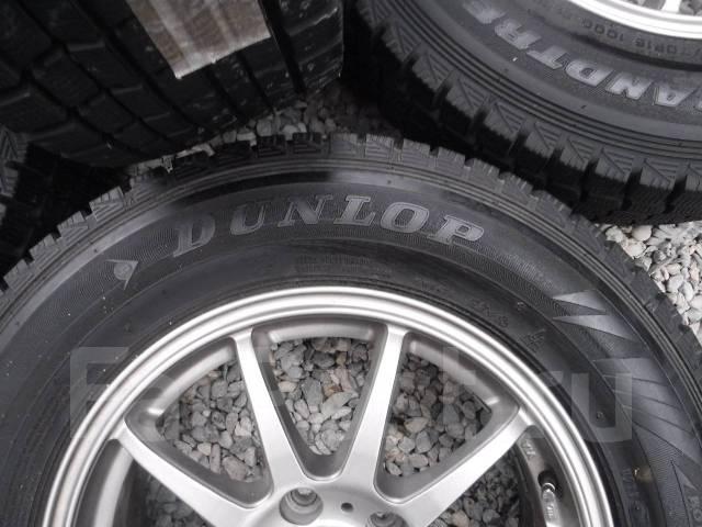 Dunlop Grandtrek SJ7. Зимние, без шипов, 2013 год, износ: 10%, 4 шт
