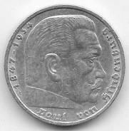 5 марок 1935г. Германия (А). Серебро. Возможен обмен.
