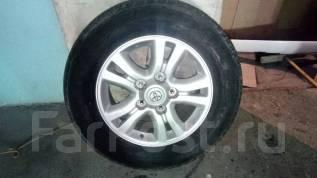 Продам комплект колес(оригинал) на летней резине,275/60/R18. 8.0x18 5x150.00 ET60