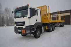 MAN TGS 33.430. Продам седельный тягач MAN TGS33.430 c полуприцеп-сортиментовоз 98131В, 10 850 куб. см., 100 000 кг.
