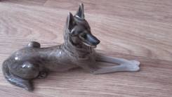 Собака Овчарка редкая роспись ЛФЗ модель 1955г. Люкс высший сорт Фарфор. Оригинал