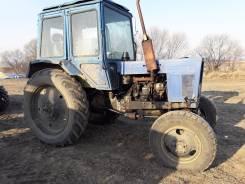 МТЗ 82. Трактор МТЗ-82 синий 4WD с документами, 4 750 куб. см.