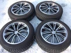 """Отличные диски weds на бодрой зиме Dunlop для Lexus RX и подобные. 8.0x19"""" 5x114.30 ET38 ЦО 73,0мм."""
