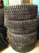 Michelin X-Ice North 3. Зимние, шипованные, 2017 год, износ: 5%, 4 шт