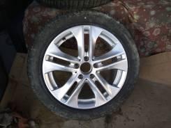 Диск колесный с резиной R17 Mercedes W212 A2124010902. 8.0x17, 5x112.00, ET48, ЦО 66,6мм.