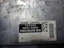 Блок управления двс. Toyota ist, NCP65 Двигатель 1NZFE