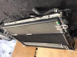 Радиатор охлаждения двигателя. Porsche Cayenne