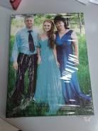 Подарок на 14 февраля, портрет по фото на холсте печать. Под заказ