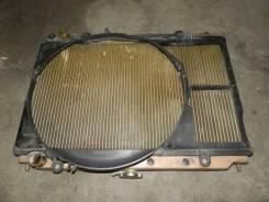 Радиатор охлаждения двигателя. Nissan Laurel, GC35 Двигатель RB25DET