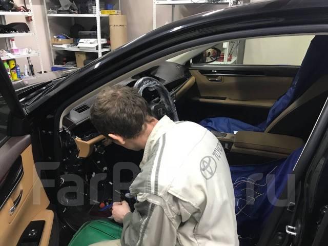 Профессиональная установка автосигнализаций, механической защиты.