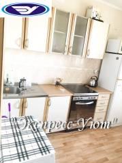 1-комнатная, улица Адмирала Кузнецова 86а. 64, 71 микрорайоны, агентство, 40 кв.м. Кухня