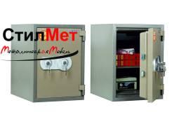 Сейф металлический огнестойкий огнеупорный VALBERG FRS-49 KL (ВхШхГ) 490x350x430 мм.