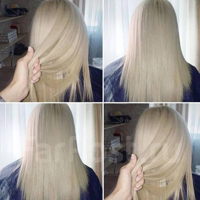 Акция! Кератиновое выпрямление волос 2500 на любую длину! Ботокс! Нано