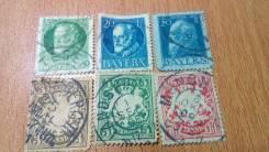 Германия Бавария 1900 1911 1914 год.