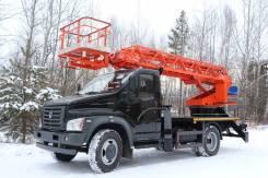 ГАЗ ГАЗон Next C41R13. Автогидроподъемник ВИПО-18-01 на шасси ГАЗ-C41R13 (4х4) стрела вперед, 1 000куб. см., 18м.