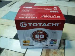 Totachi. 80 А.ч., Обратная (левое), производство Япония