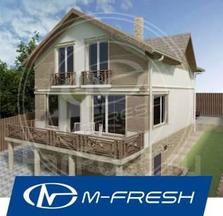 M-fresh Jamaica Maximum! (Доработанный вариант проекта с цоколем! ). 200-300 кв. м., 2 этажа, 5 комнат, бетон