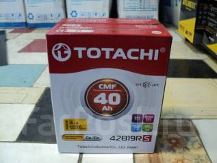 Totachi. 40А.ч., Прямая (правое), производство Япония
