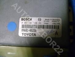 Блок управления двс. Toyota Avensis, AT220, AT220L Двигатель 4AFE