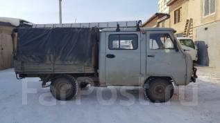 УАЗ 39094 Фермер. Организация продает УАЗ-39094 (фермер) 2002г (кабина 2009г), 2 700 куб. см., 1 000 кг.