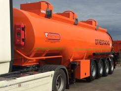 Сеспель SF4332. Цистерна SF4332 (32м3, 3 отс., 4-х осный, нагрузка на тележку 26 тонн), 32,00куб. м.
