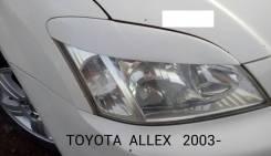 Накладка на фару. Toyota Allex, NZE121 Toyota Corolla Runx, NZE121
