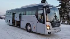 Hyundai Universe. Туристические автобусы Space Luxury 2 единицы, 12 300 куб. см., 44 места