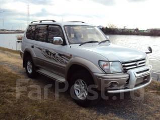 Toyota Land Cruiser Prado. автомат, 4wd, дизель, б/п, нет птс. Под заказ