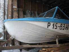 Казанка-5М. Год: 1997 год, длина 5,70м., двигатель подвесной, 50,00л.с., бензин