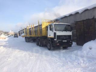 МАЗ. Продам сцепку сортиментовоз, 12 000 куб. см., 30 000 кг.