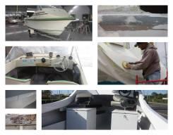 Ремонт корпусов лодок, катеров, яхт