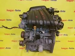 Двигатель в сборе. Nissan: Wingroad, Bluebird Sylphy, Cube, Tiida Latio, Tiida, Cube Cubic, AD, March, Note Двигатель HR15DE