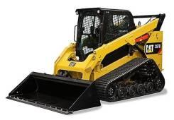 Caterpillar 287D. Официальный дилер продаёт бу погрузчик с бортовым поворотом Сat 287D, 1 814кг., Дизельный, 0,40куб. м.