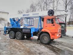 Випо-36. Продается из наличия Автогидроподъемник ВИПО-36-01 на ш. Камаз-43118, 8 000куб. см., 300кг., 36,00м.
