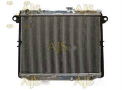Радиатор охлаждения двигателя. Toyota Land Cruiser, FZJ100, HDJ100, HDJ100L, HDJ101, HDJ101K Двигатели: 1FZFE, 1HDFTE, 1HDT